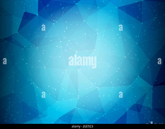 Abstract background with a low poly design - Stock Image