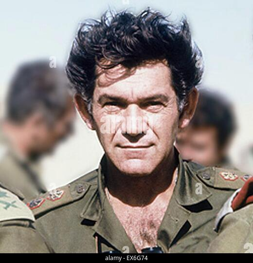 David Elazar 1925-1976 ninth Chief of Staff of the Israel Defence Forces, serving in that capacity from 1972 to - Stock Image