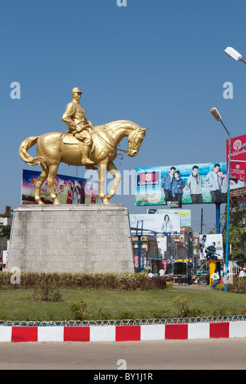 aung san statue - Stock-Bilder