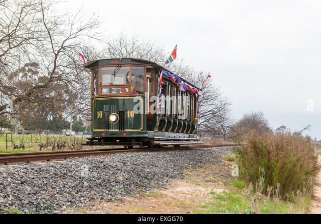 Franschhoeck South Africa - The wine tram - Stock-Bilder