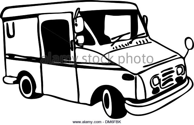 mail carrier black and white stock photos  u0026 images