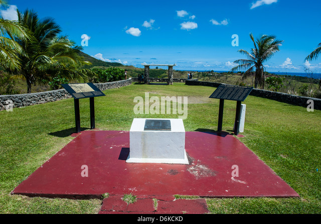 War Memorial, Guam, US Territory, Central Pacific, Pacific - Stock Image