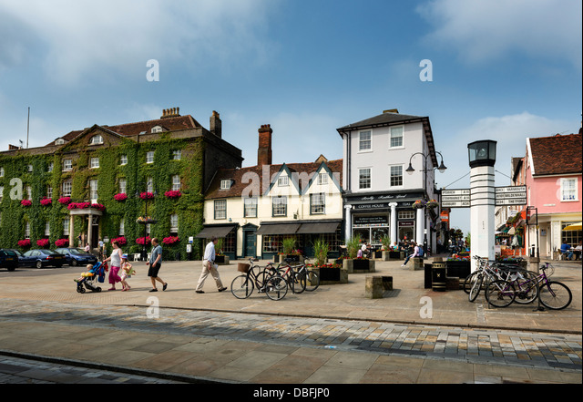 Bury St Edmunds - Stock Image