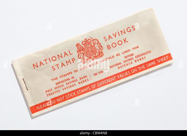 National savings stock photos national savings stock images alamy - Premium bonds post office ...