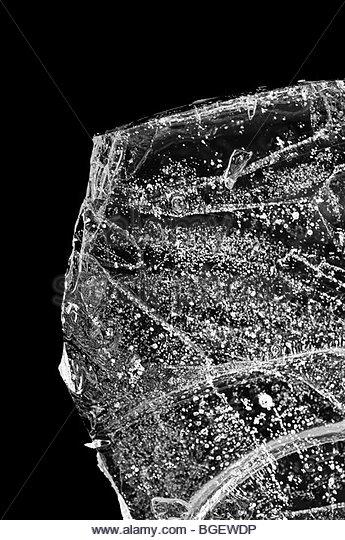 Frozen Ice - Stock Image