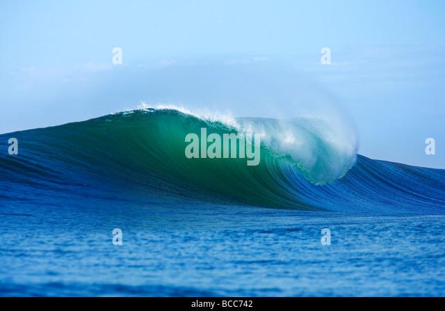 Breaking wave - Stock-Bilder