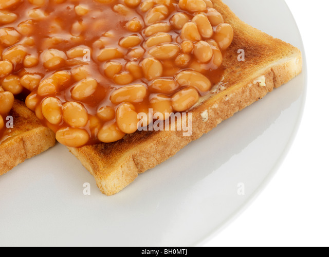 how to eat beans on toast