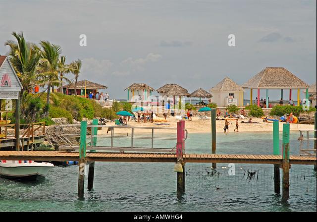 Bahamas Pearl Island off New Providence Nassau Paradise Island - Stock Image