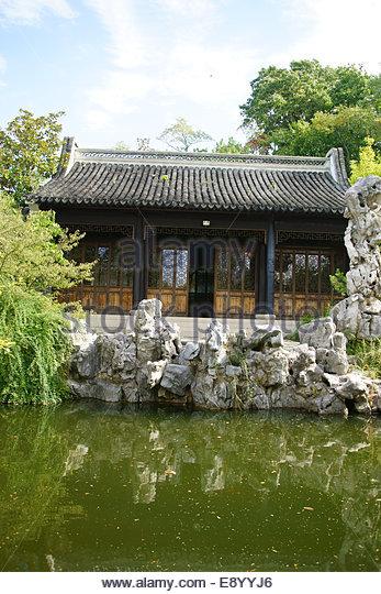 New York Chinese Garden Stock Photos New York Chinese Garden Stock Images Alamy