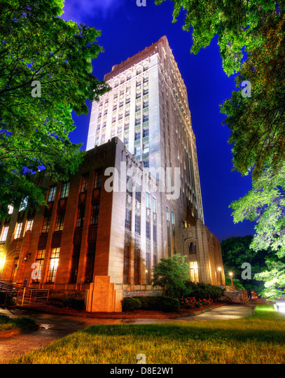 City Hall in Atlanta, Georgia, USA. - Stock-Bilder