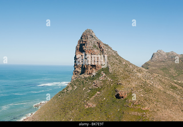 Sea and mountains - Stock Image