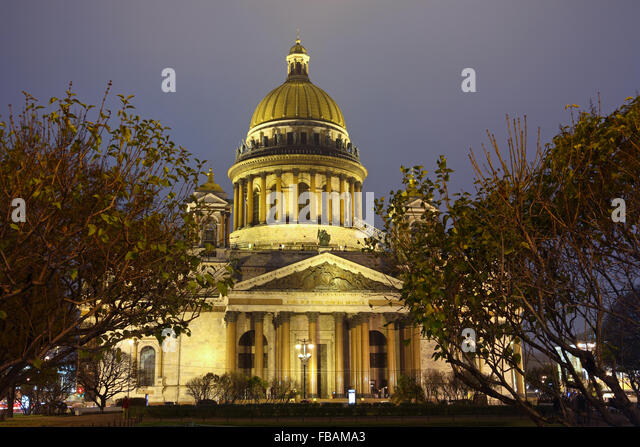 St. Petersburg, St. Isaac's Cathedral - Stock Image