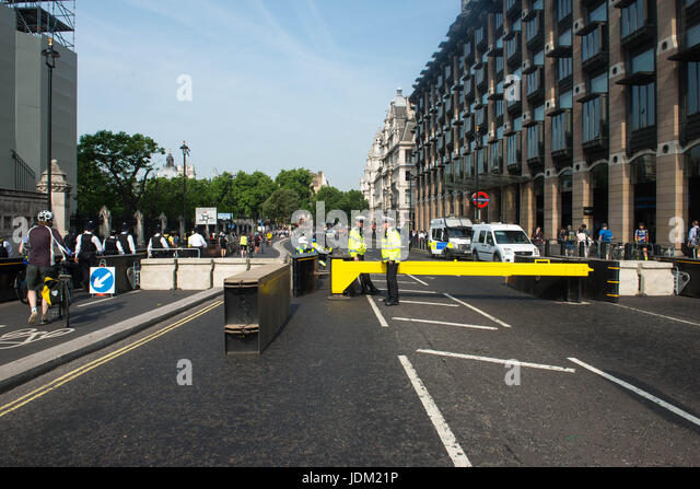 London, United Kingdom. 21st June 2017. Britain are taking extra security precautions to protect Queen Elizabeth - Stock Image