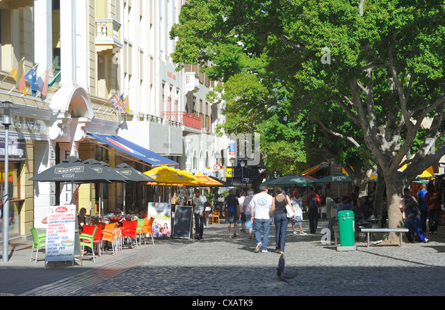 Green Market, Cape Town, South Africa, Africa - Stock Image