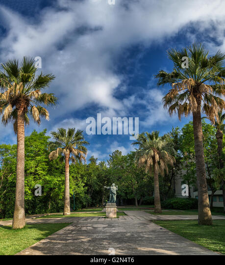 Jardins de miramar stock photos jardins de miramar stock for Barcelona jardin