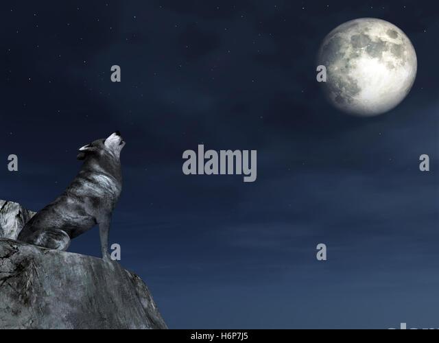 Werewolf howl gif