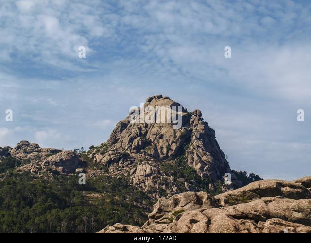 Foret de l'Ospedale rocky mountains picks - Stock Image