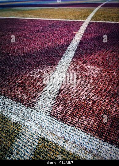 X abstract running tracks - Stock Image