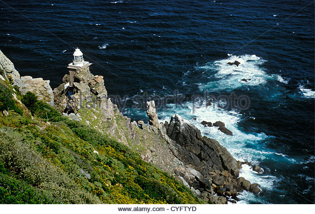 South Africa, Peninsula of Cape Town, Western Cape Province, 'Cape of Good Hope', southernmost point of - Stock Image