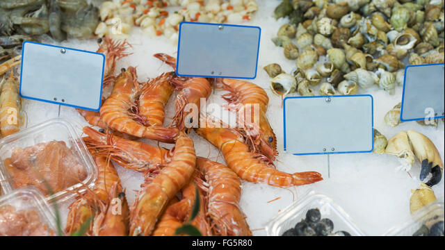 Wild ocean seafood market stock photos wild ocean for Kings fish market