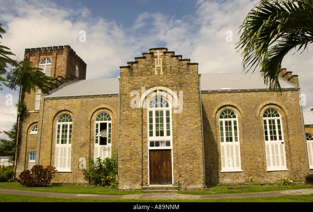Belize City Central Latin America St Johns Anglican Church - Stock Image
