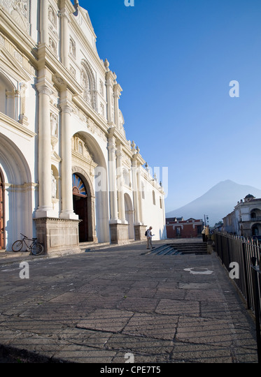 Cathedral of San Jose, Antigua, UNESCO World Heritage Site, Guatemala, Central America - Stock Image