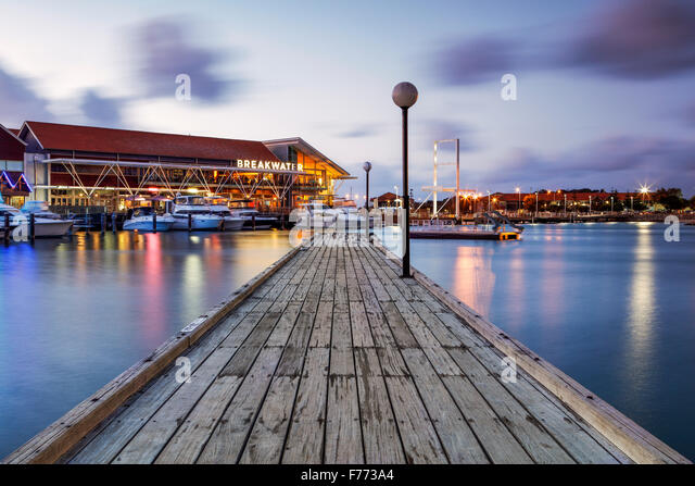 The Sorrento Quay, Hillarys Boat Harbour, Western Australia. - Stock Image