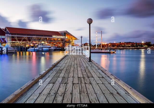 The Sorrento Quay, Hillarys Boat Harbour, Western Australia. - Stock Image