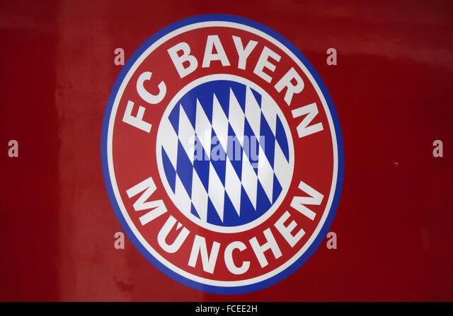 Markenname: 'FC Bayern Muenchen', Berlin. - Stock-Bilder