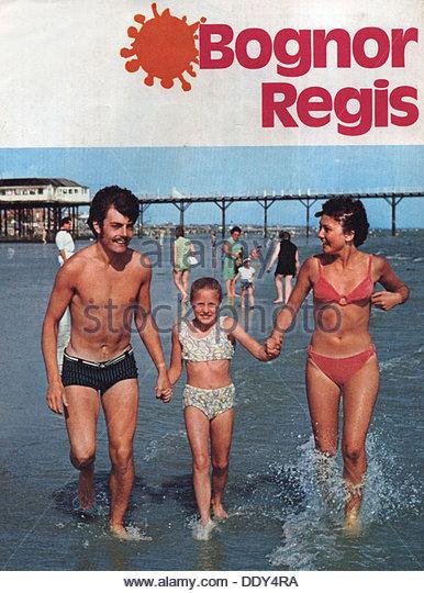 Bognor Regis, holiday brochure, 1970s. - Stock-Bilder