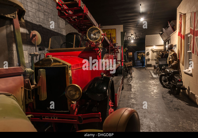 German Occupation Museum, Guernsey, Channel Islands - Stock Image