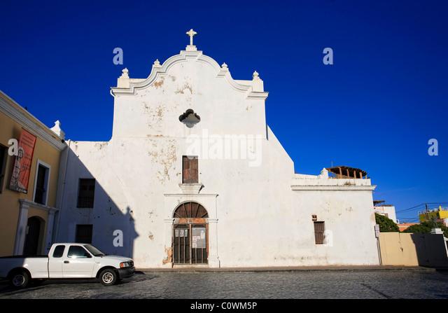Usa, Caribbean, Puerto Rico, San Juan, Old Town, Inglesia de San Jose - Stock Image