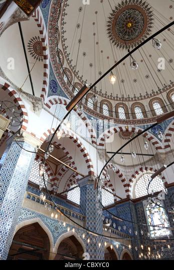 Rustem Pasha Mosque dome, Istanbul - Stock Image