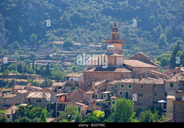 Valldemossa, Majorca, Balearic Islands, Spain, Europe - Stock Image
