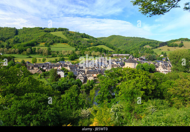 Vue generale stock photos vue generale stock images alamy for Beaux villages yvelines