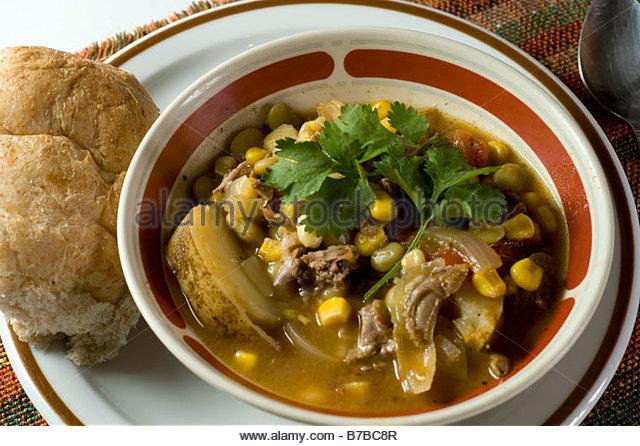 Brunswick game stew - Stock Image