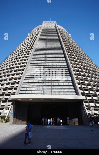 Metropolitan Cathedral of St. Sebastian, Centro, Rio de Janeiro, Brazil, South America - Stock Image