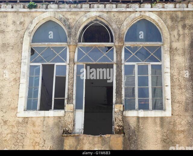 Beirut Window - Stock Image