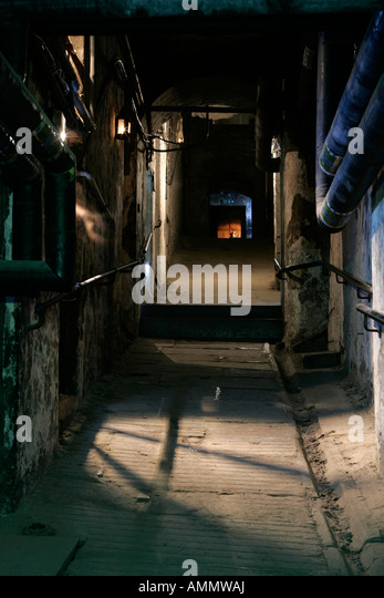 THE INTERIOR OF MARY KING'S CLOSE,EDINBURGH. - Stock Image