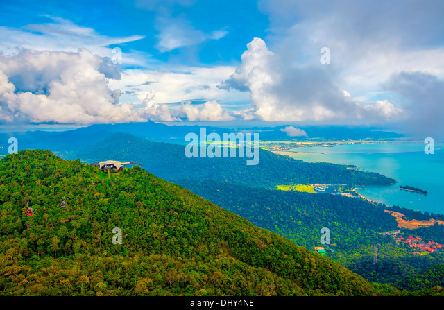 Langkawi viewpoint - Stock Image