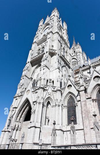 La Basilica, Quito, Ecuador - Stock Image