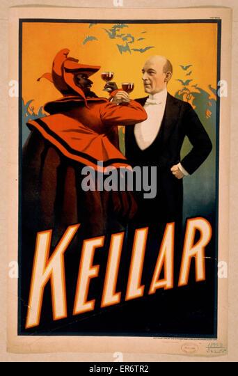 Kellar posters poster - Stock Image