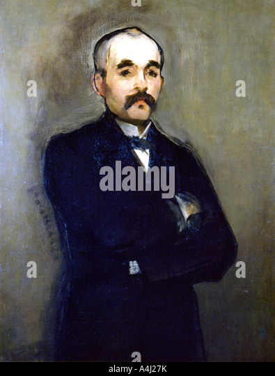 Georges Clemenceau 1879  - Stock Image