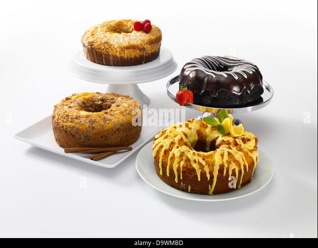 Classic cakes - Stock Image