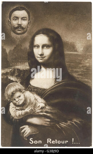 the mona lisa stock photos the mona lisa stock images alamy. Black Bedroom Furniture Sets. Home Design Ideas