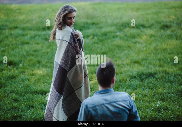 Young couple - Stock-Bilder