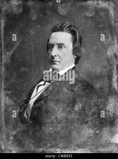 David Rice Atchison, ca. 1850s. Mathhew Brady Studio - Stock Image