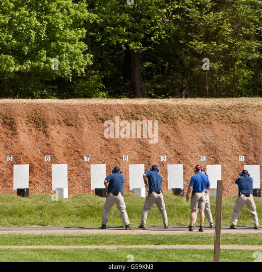 fbi gun range stock photos fbi gun range stock images. Black Bedroom Furniture Sets. Home Design Ideas