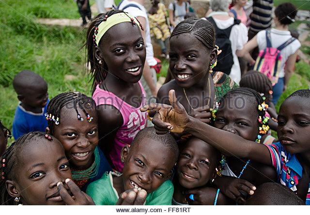 Galerry  on Mali for Kids Image of a Bozo Girl in Bamako Mali Mali Quiz