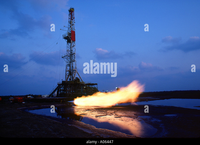 oil rig - Stock-Bilder